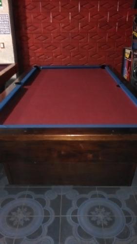 mesas de pool y una de carambola