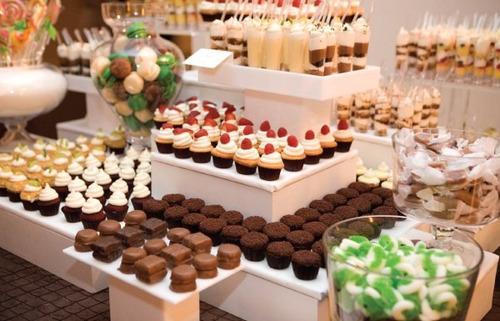 Mesas de postres bodas bautizos 15 a os 1era comunion for Mesa de dulces para xv anos