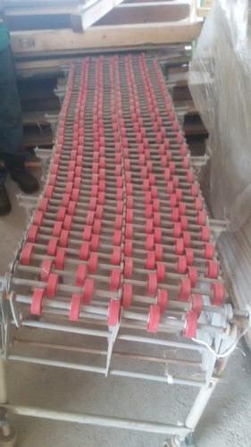 mesas de rodilllos