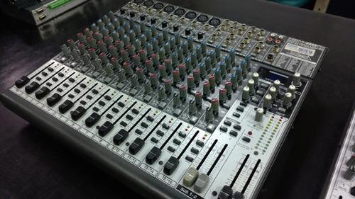 mesas de som behringer - vários modelos - usadas - não envia