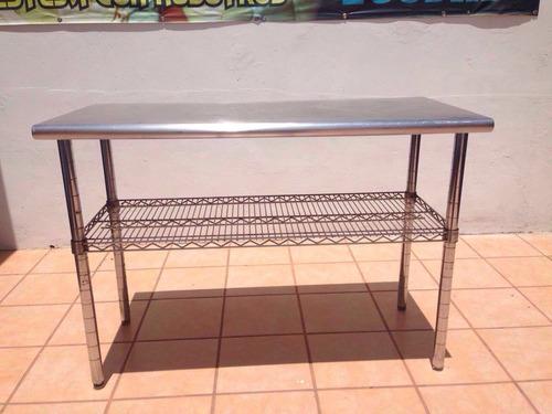 mesas de trabajo acero inoxidable nuevas
