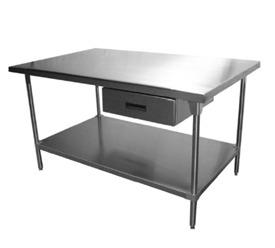 Mesas De Trabajo Cocina 003 - $ 6,600.00 en Mercado Libre