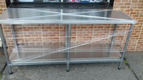 mesas de trabajo de acero inoxidable a mitad de precio$$$