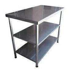 mesas de trabajo en acero