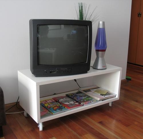 mesas de tv, cubo de tv, modular de tv, mesa tv con ruedas