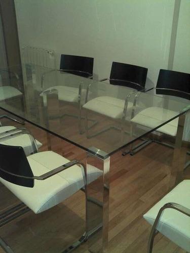 mesas de vidrio , diseños exclusivos a medida