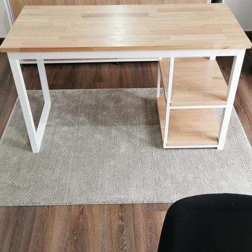 mesas escritorios hierro y madera