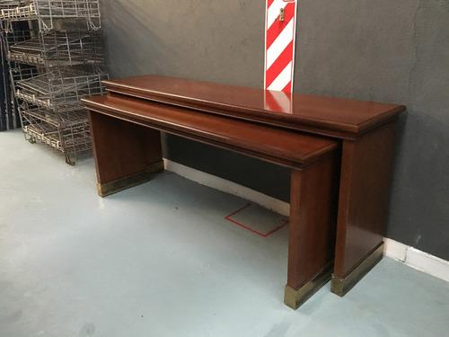 mesas fontenla macizas tipo dressoire (juego)