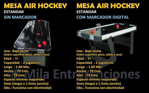 mesas hockey, taca tacas, arcades etc. quilpue villa alemana