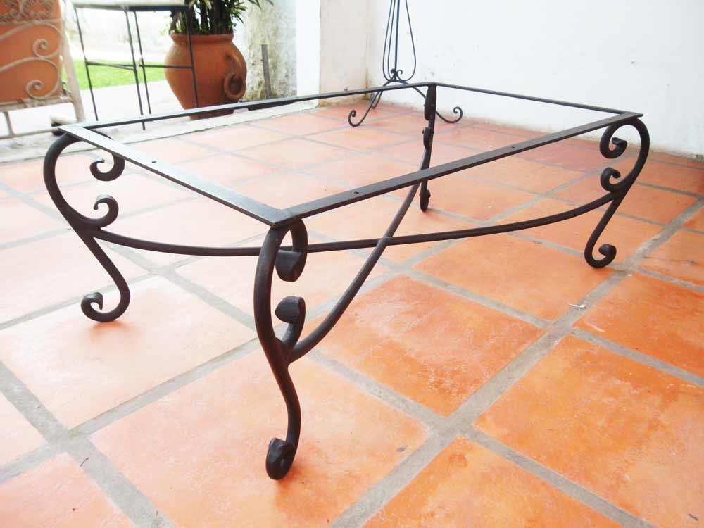 mesas living de hierro forjado solo esta semana, regalo