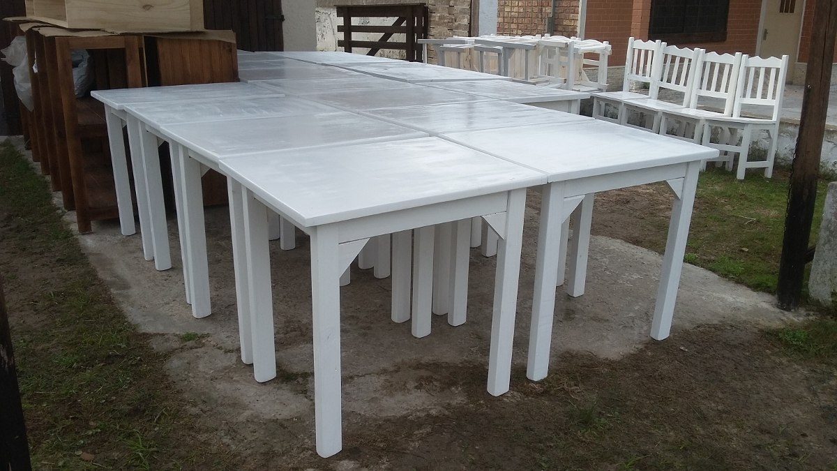 mesas madera para bares restoran cocina comedor