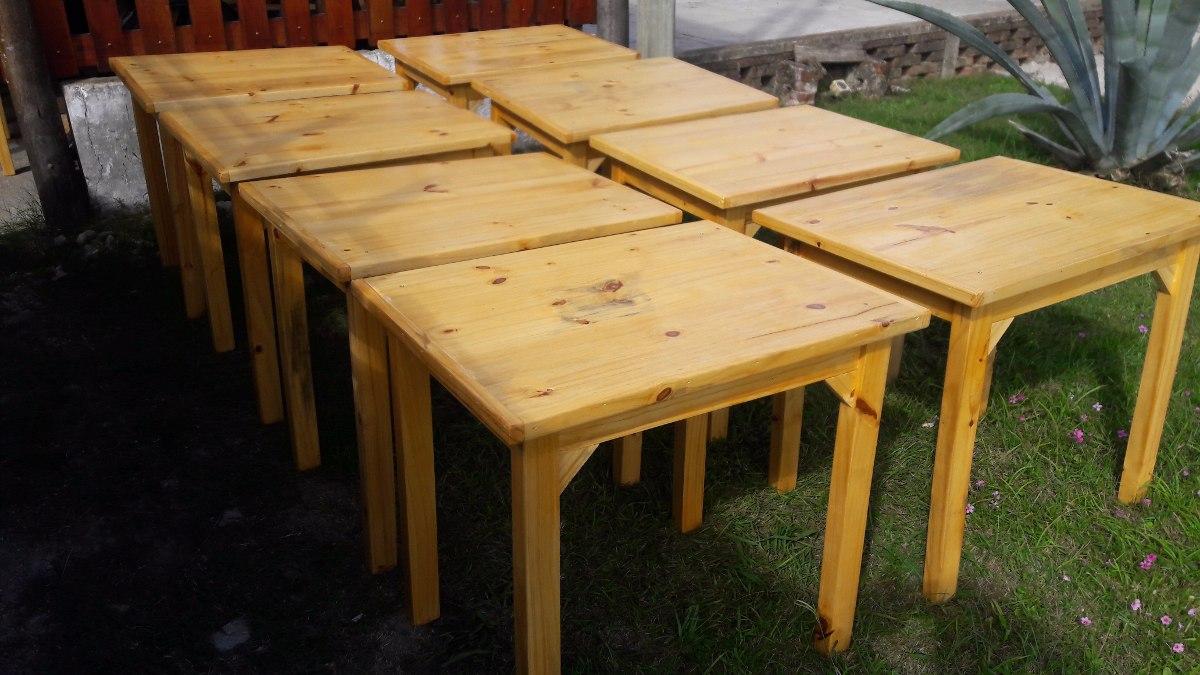 Mesas madera para bares restoran cocina comedor 990 00 for Mesas para cocina comedor