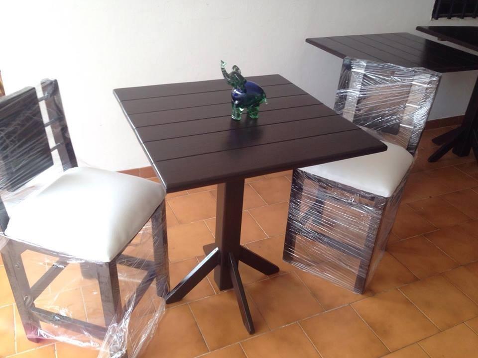 Mesas, Madera, Restaurantes, Cocina, Sillas, Modernas - Bs. 46.000 ...