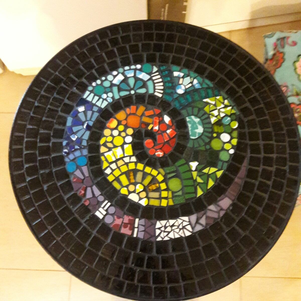 Mesas Mosaico Venecitas A Pedido Diseños - $ 2.500,00 en Mercado Libre