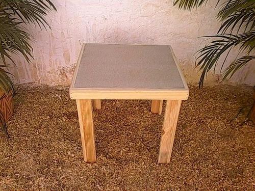 mesas o mesitas de madera para niños simples y tipo picnic