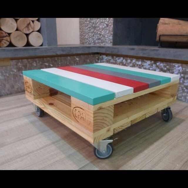 Mesas Palets 150000 En Mercado Libre - Mesas-con-palets
