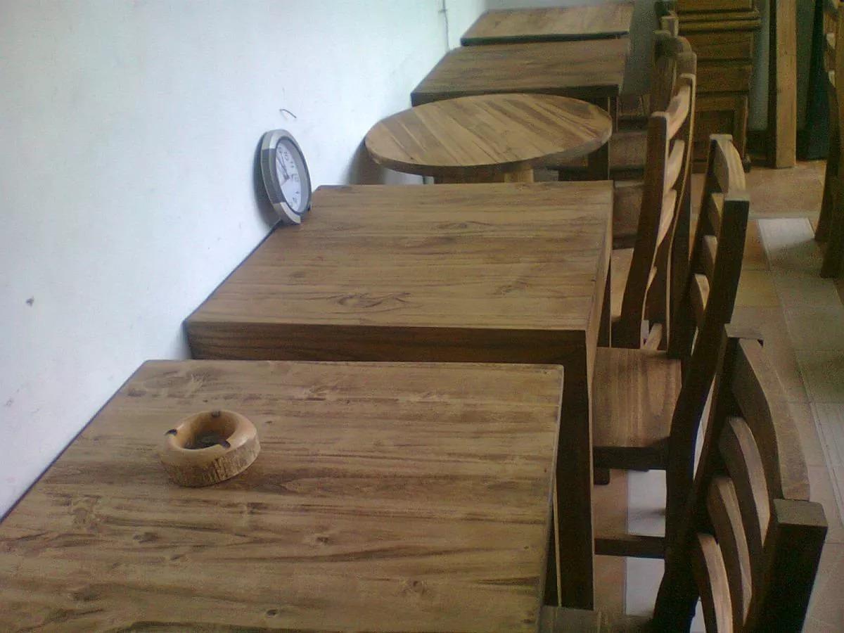Mesas Para Bar Mobiliario De Madera Maciza En Tigre - $ 930,00 en ...