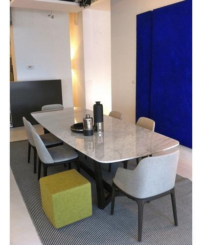 mesas para comedor de marmol
