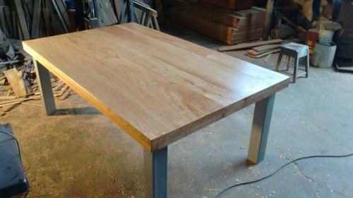 mesas para comedor,ratonas,islas  en hierro y madera dura