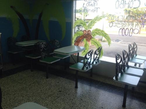 mesas para ferias de comida