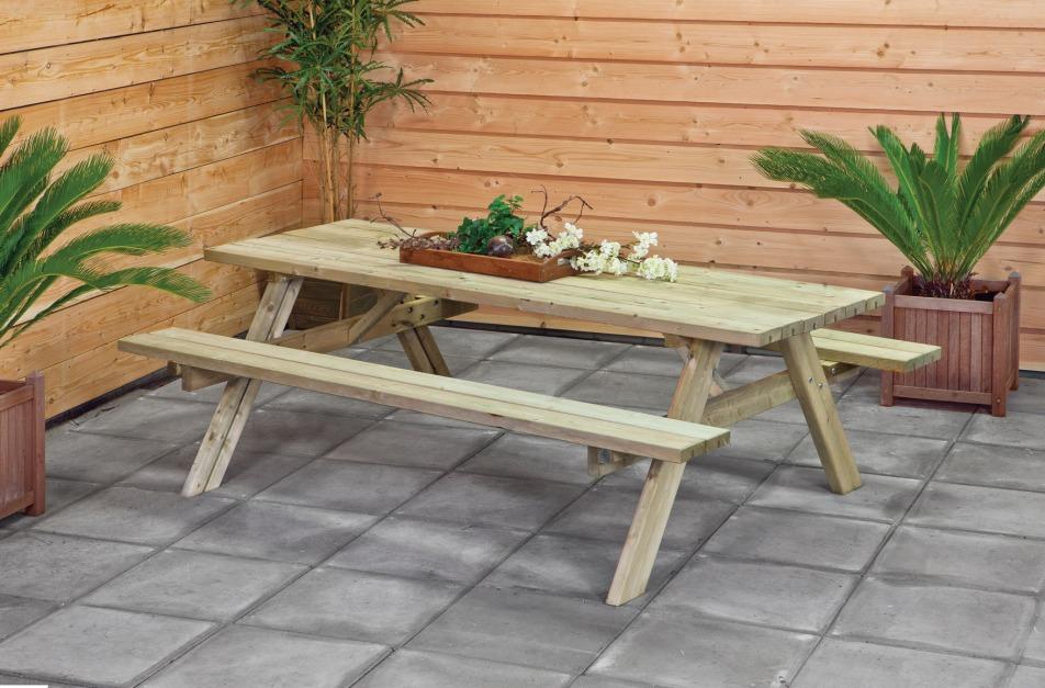 Mesas Para Jardín O Terraza. - $ 80.000 en Mercado Libre