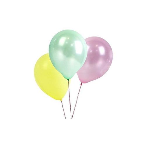 mesas parlantes we heart pastel 12 globos multicolores para