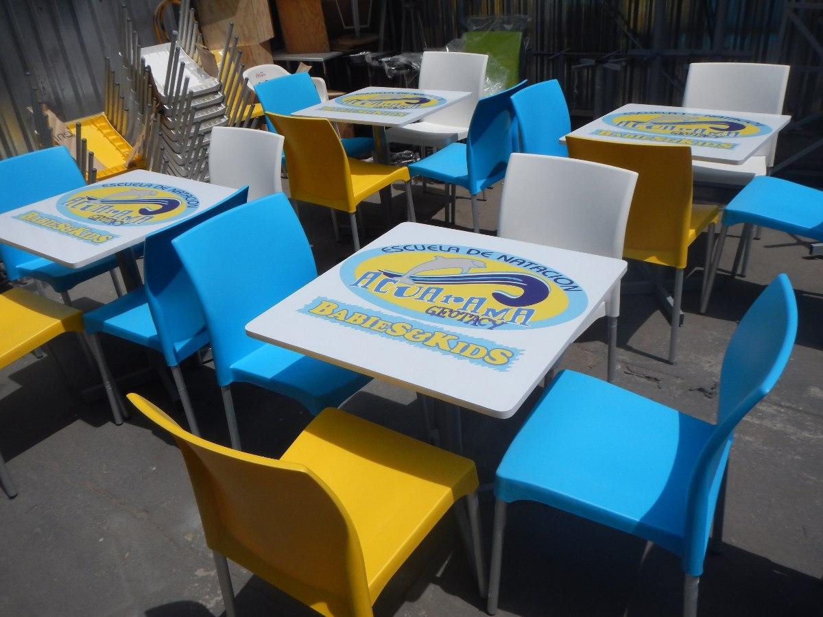 Mesas personalizadas con logotipo para restaurantes for Mesas de restaurante precios