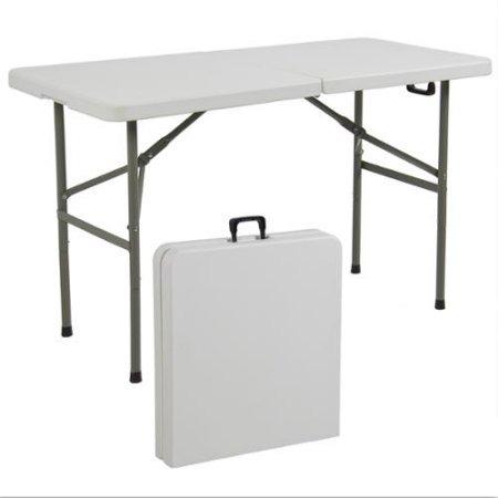 Mesas plegables de pl stico port tiles tabla 4 39 interior for Mesas supletorias plegables