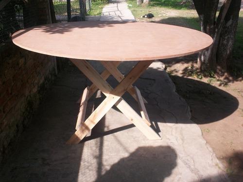 mesas redondas plegables para 10 personas de 1,50 .nuevas