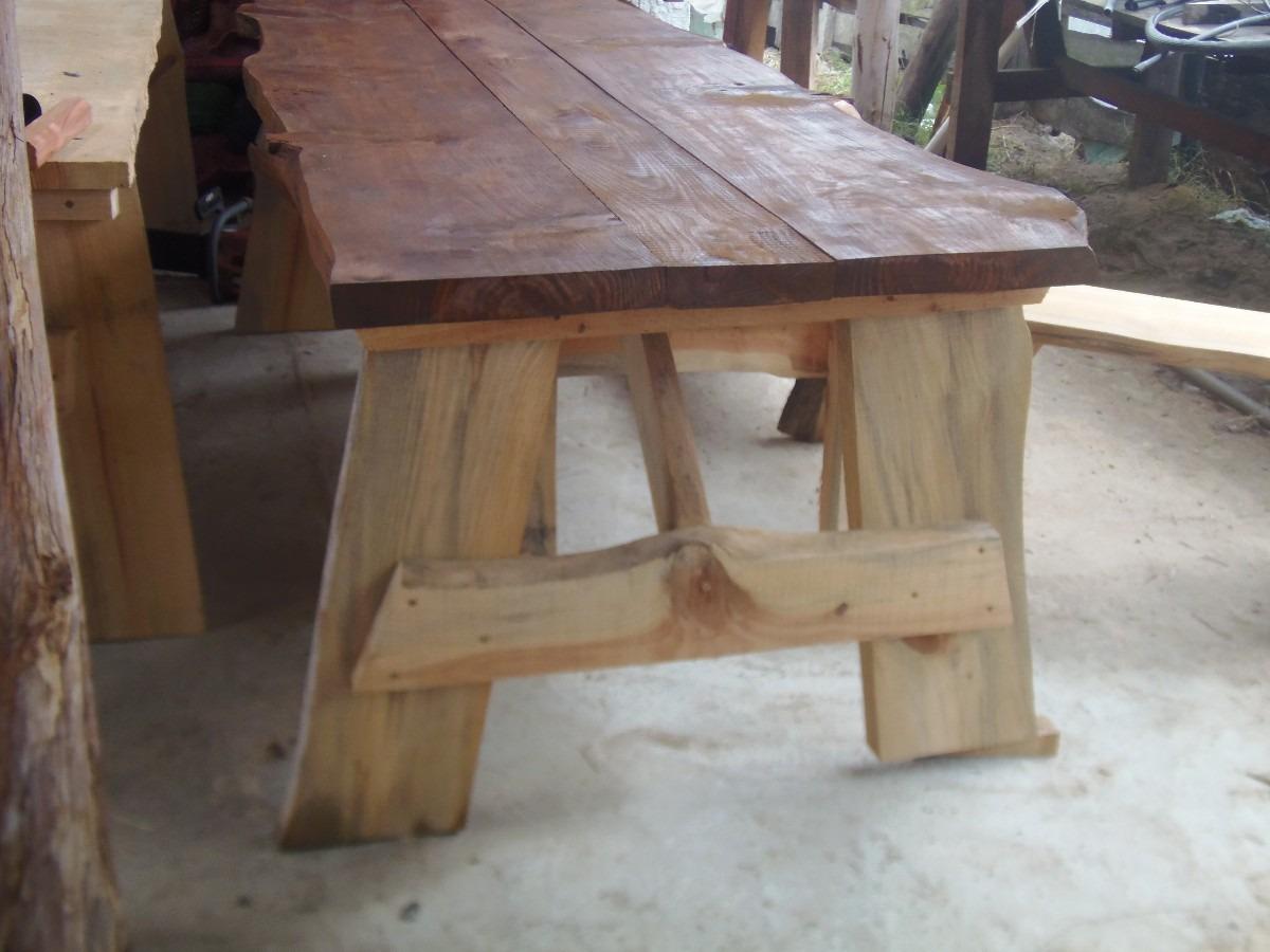 Mesas rusticas de barbacoa y leer tabla para asado 250 for Hacer mesa de madera rustica