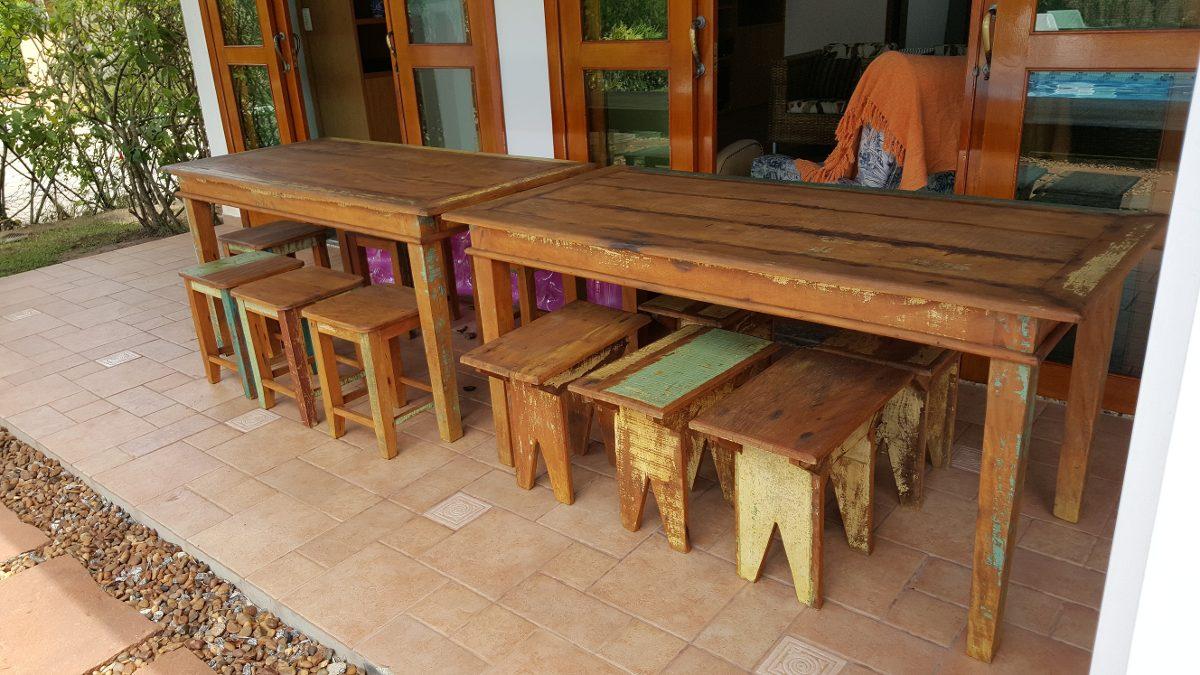 Mesas rusticas de madeira r em mercado livre - Mesas rusticas de cocina ...