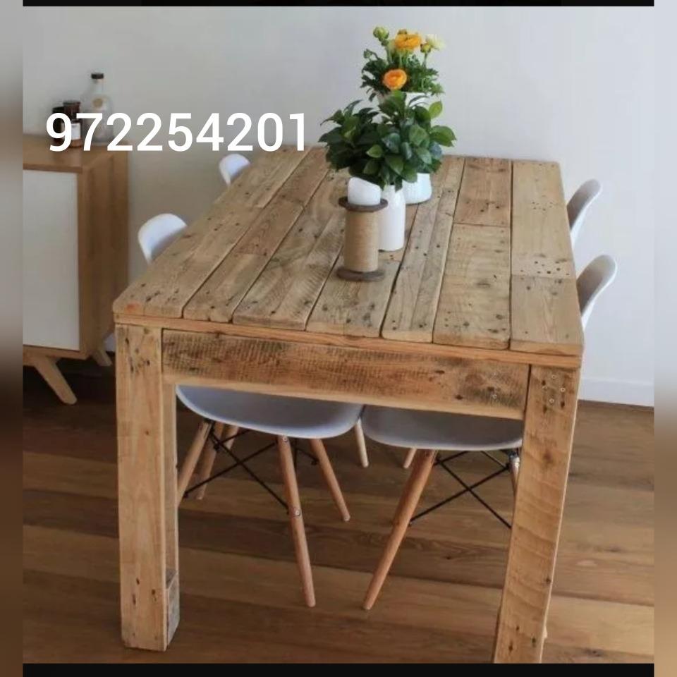 Mesas Rusticas - Eran Pallets -   79.990 en Mercado Libre ef2052ae9b66