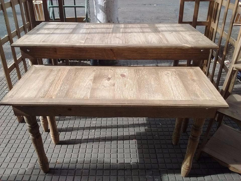 Mesas rusticas mdf para decora o de festas e r em mercado livre - Mesas de salon rusticas ...