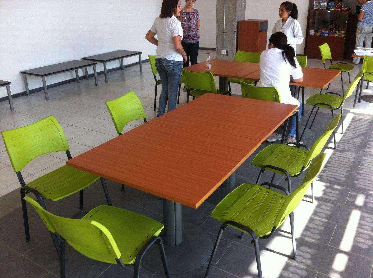 Mesas sillas cafeterias sillas casinos mesas en - Sillas para cafeterias ...