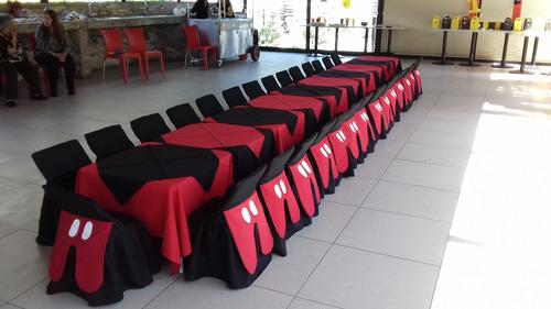 mesas sillas fiestas