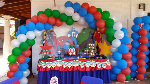 mesas, sillas, mesones, puss, festejo, eventos, decoracion