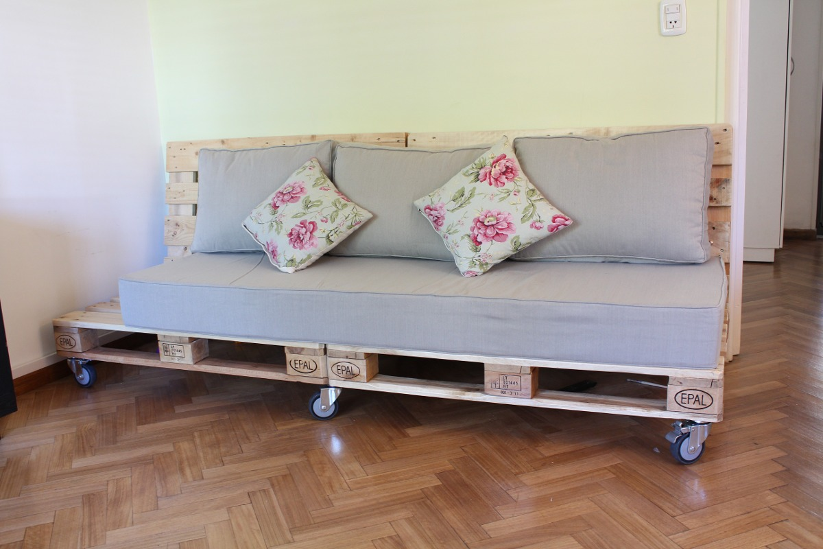 excellent good cargando zoom with muebles pallet with sillon pallets - Sillon Palets