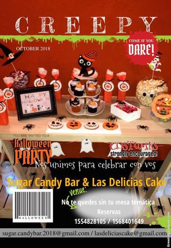 mesas tematicas y candy bar personalizados !!!