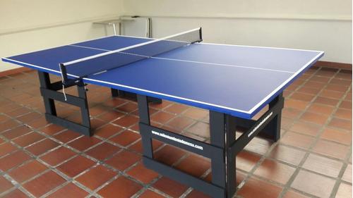 mesas tenis ping pong reglamentarias, envio incluido mas kit