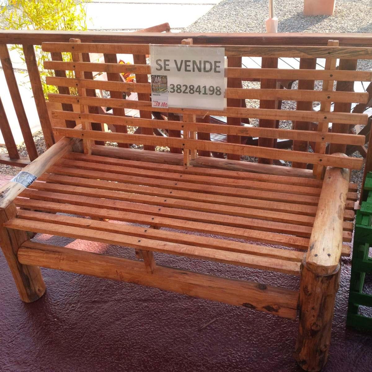 Mesas Y Silla Esca O 100 000 En Mercado Libre # Muebles Rusticos Duitama Boyaca