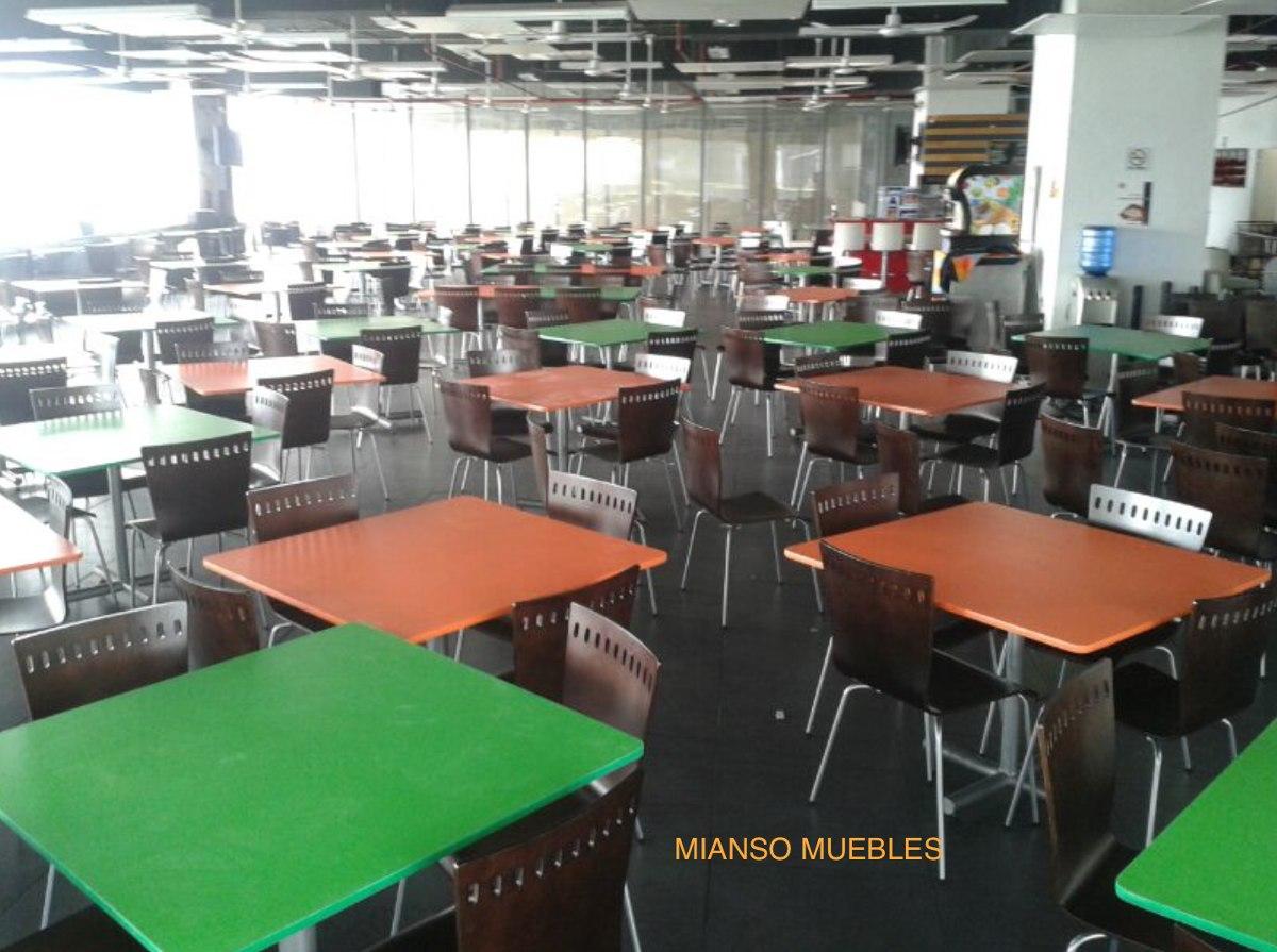 Mesas Y Sillas Comedores Industriales - $ 3,990.00 en Mercado Libre