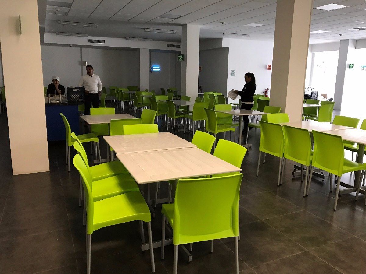 Mesas y sillas comedores industriales y restaurantes for Sillas para comedor industrial