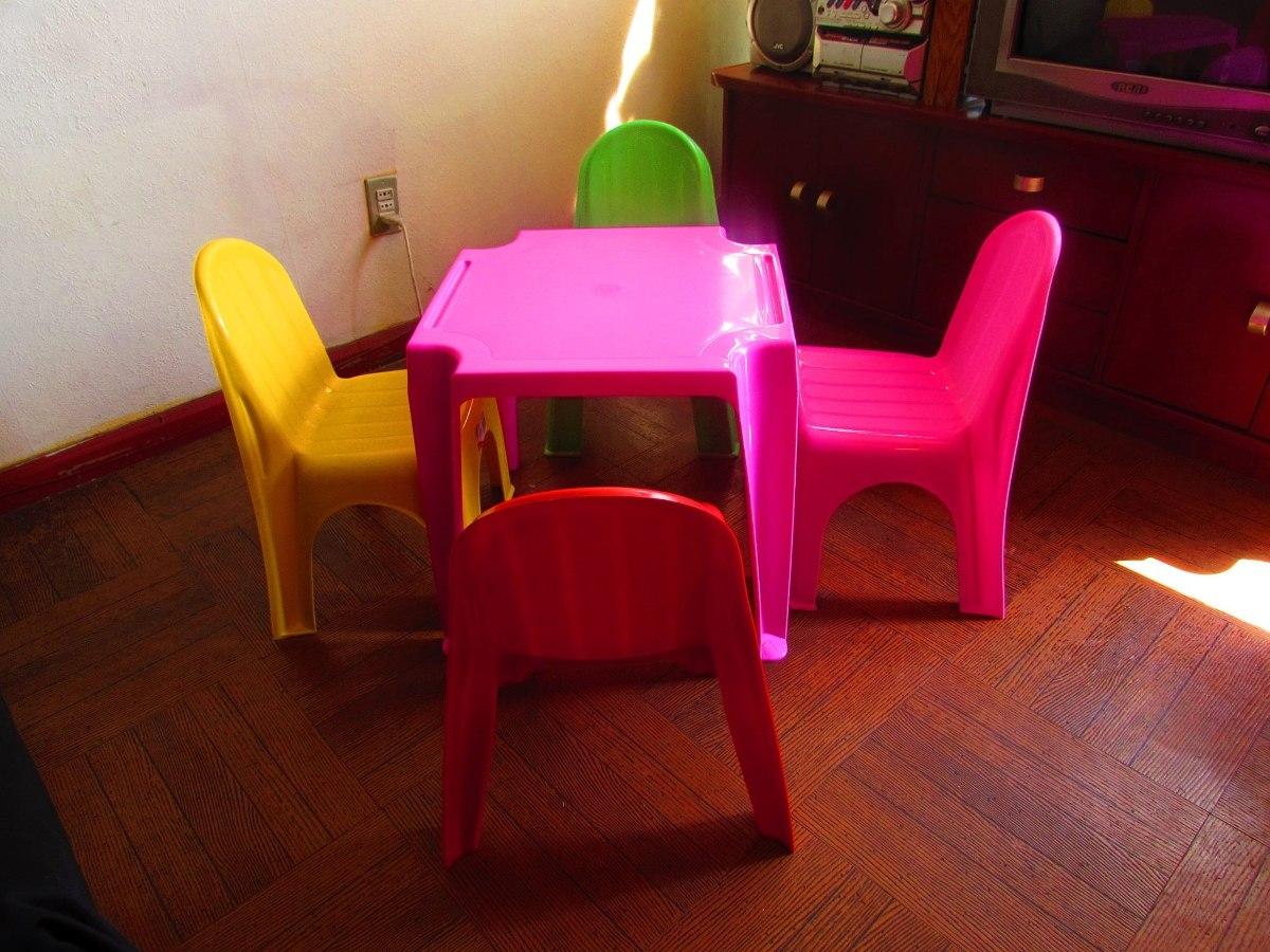 Mesas y sillas infantiles a domicilio en mercado for Mercado libre mesas y sillas