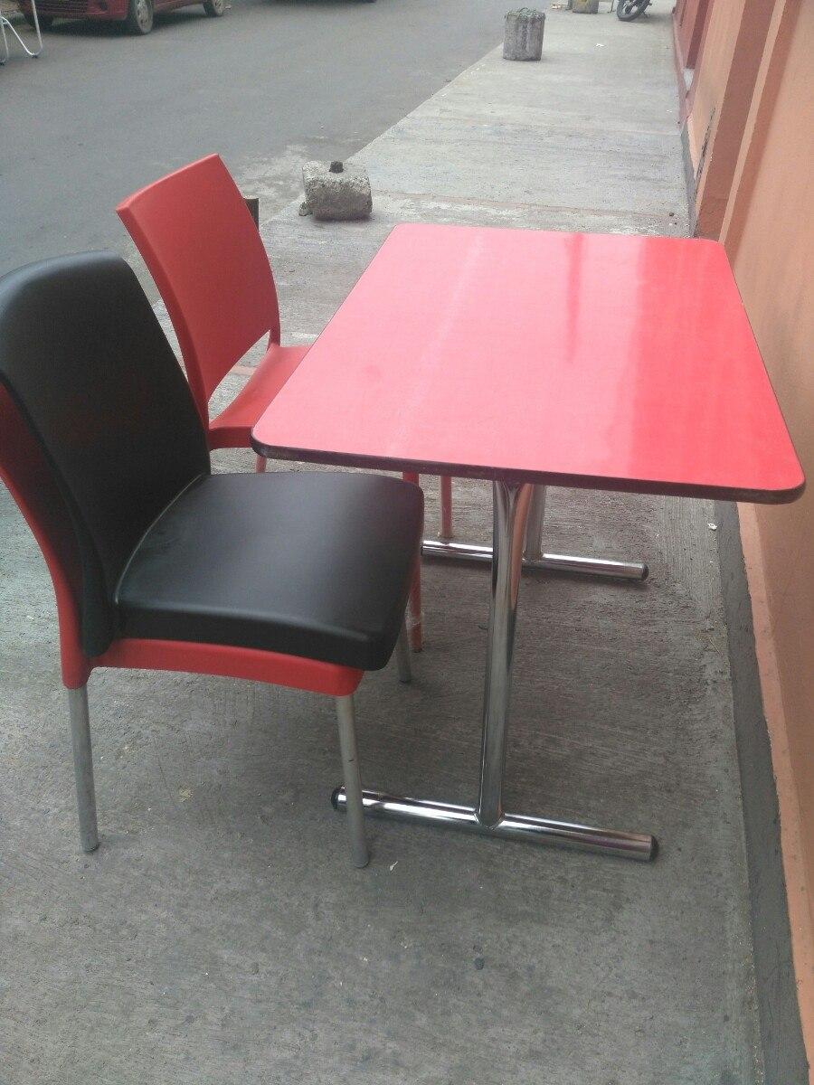 Mesas Y Sillas Para Cafeter A En Mercado Libre