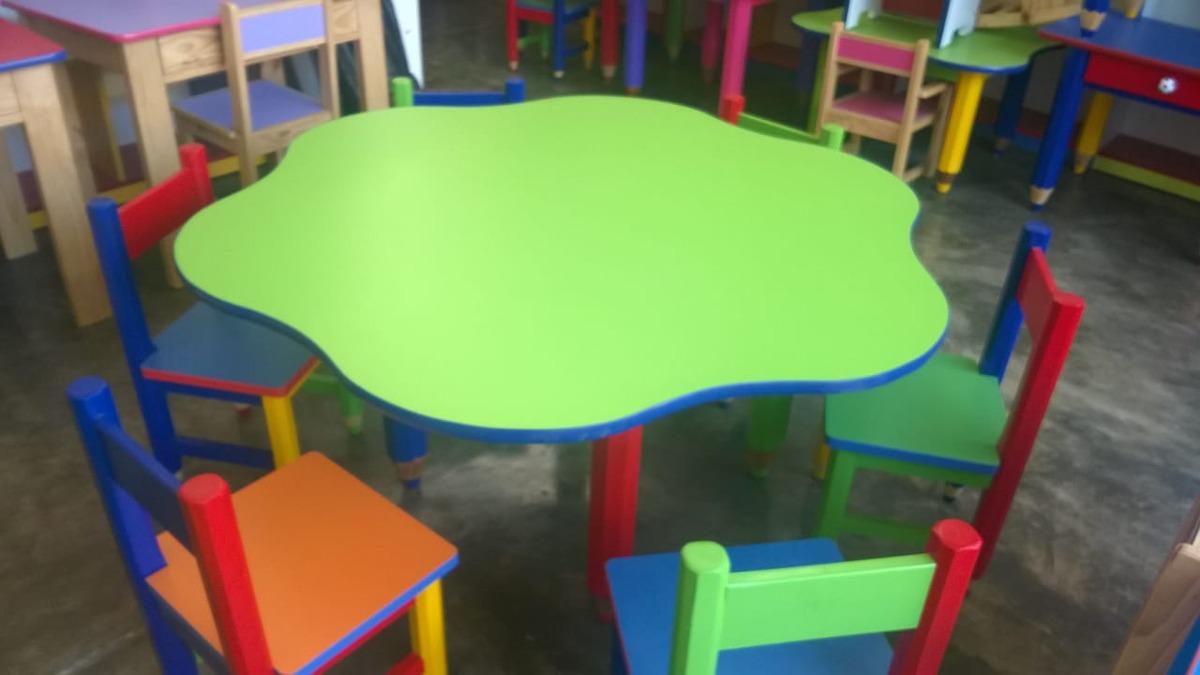 Mesas y sillas para inicial nidos etc s 370 00 en for Sillas para inicial