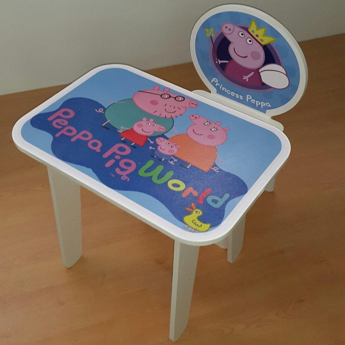 mesas y sillas para nias