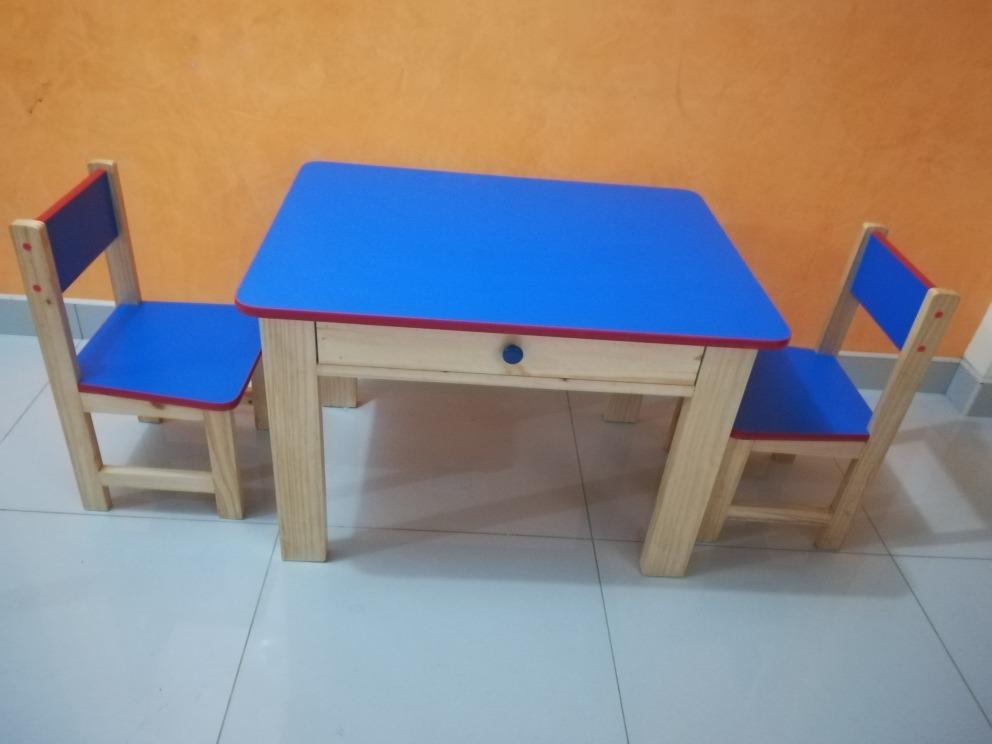 Mesas y sillas para ni os inicial etc s 160 00 en mercado libre - Mesas y sillas de ninos ...