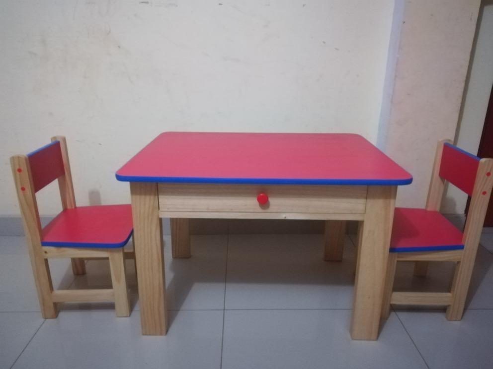 Mesas y sillas para ni os inicial kinder etc s 160 for Mesas y sillas para ninas