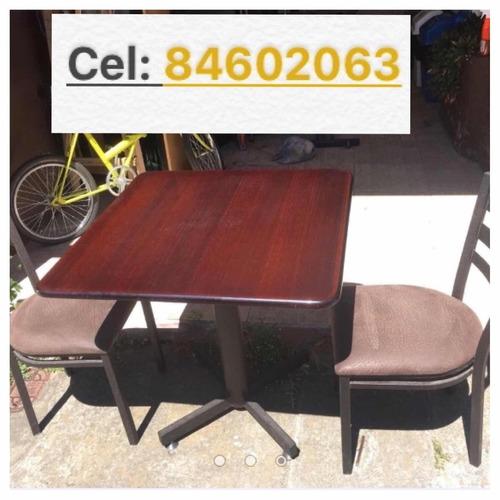 mesas y sillas para rest. soda. bar