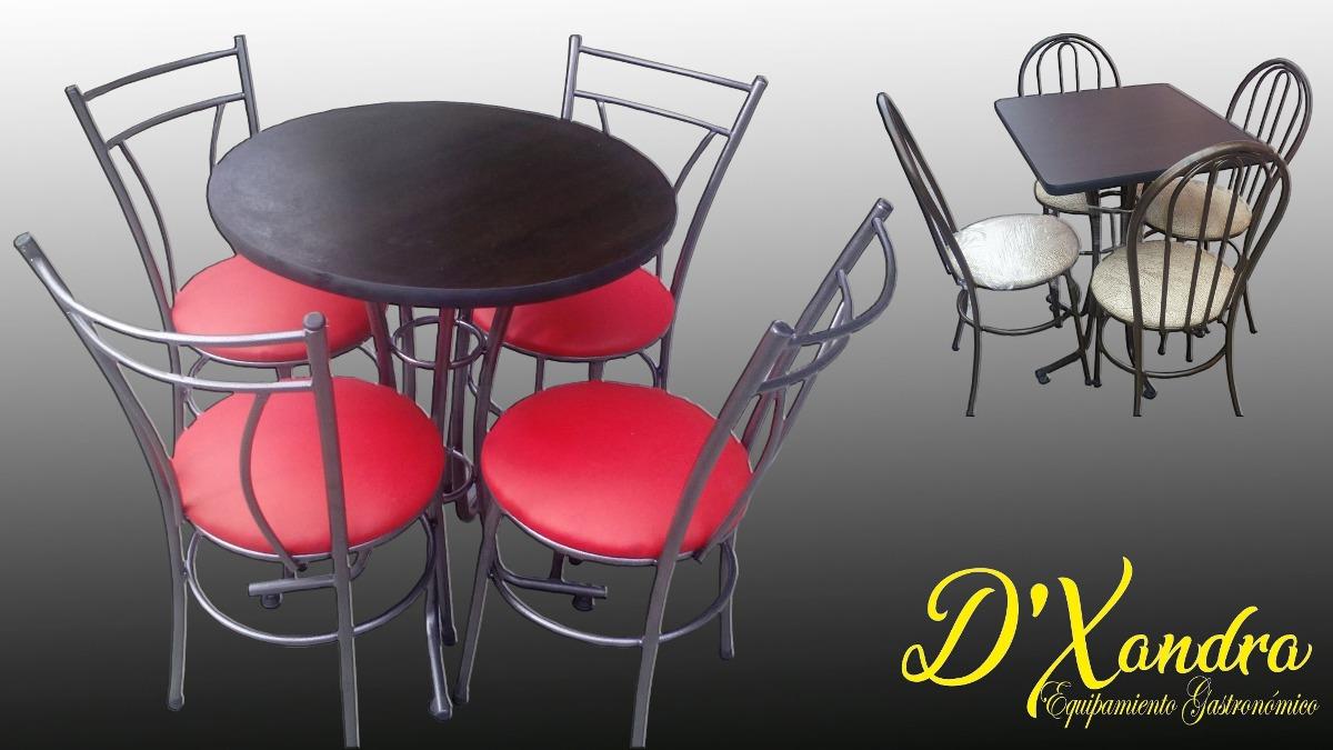 Mesas y sillas para restaurante u s 165 00 en mercado libre for Mercado libre mesas y sillas